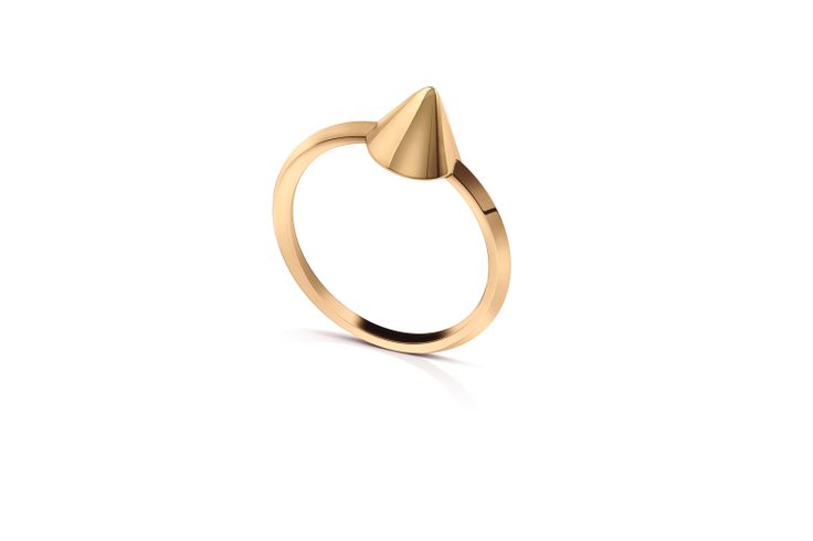 Spike RIng in 18K Yellow Gold.
