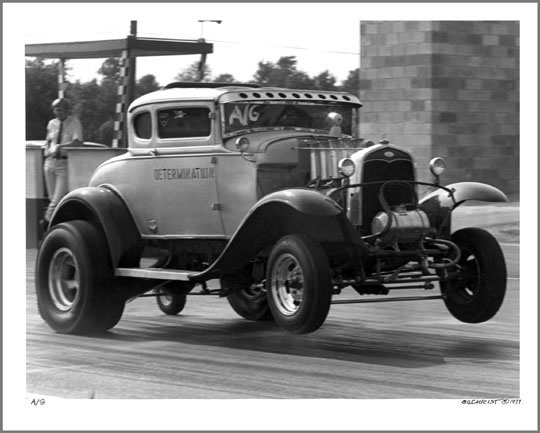 1931 Ford Model A Coupe - A/Gasser