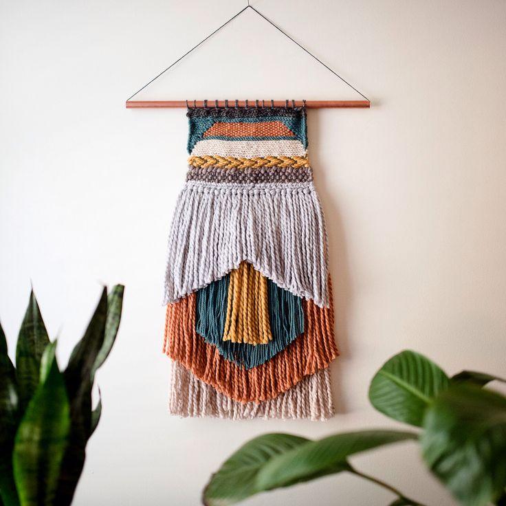 Southwestern Hand Woven Wall Tapestry Weave by StarlingWeave on Etsy https://www.etsy.com/listing/245373648/southwestern-hand-woven-wall-tapestry
