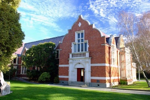 Lincoln University war memorial hall   NZHistory, New Zealand history online