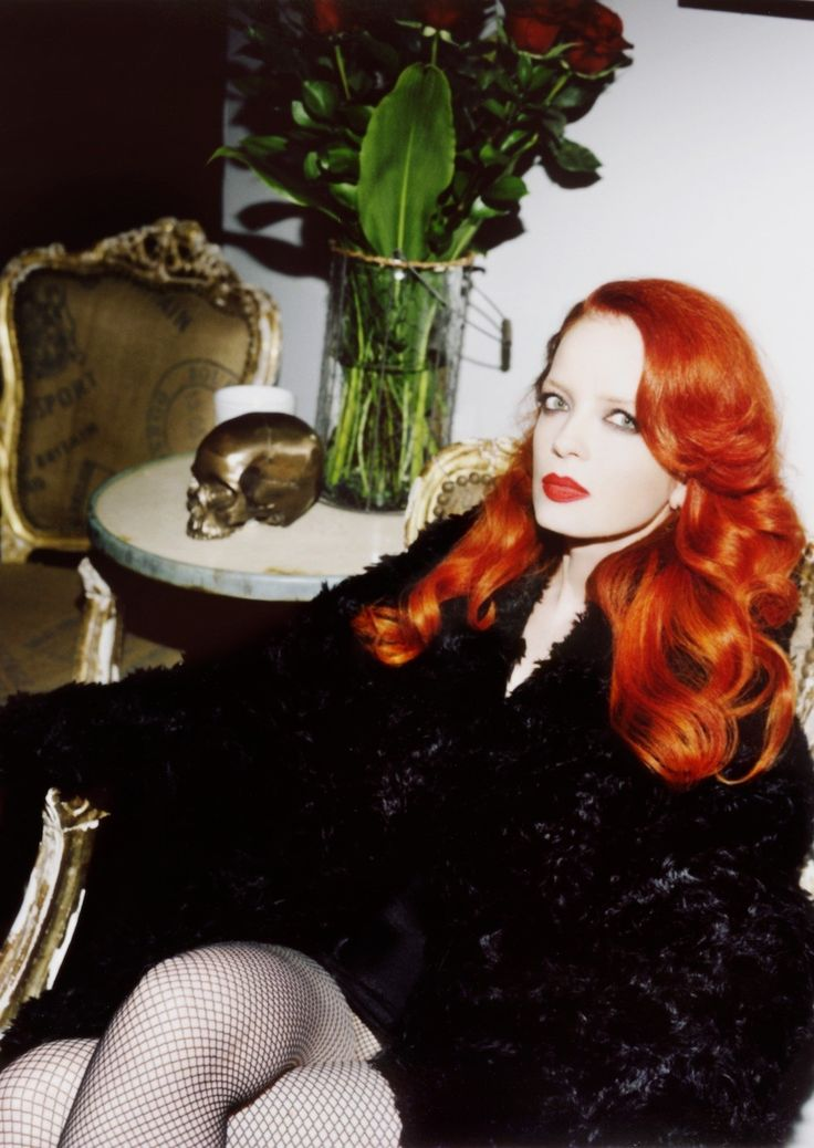 Shirley Manson styled by B Akerlund for  Other Stories // anothermag.com