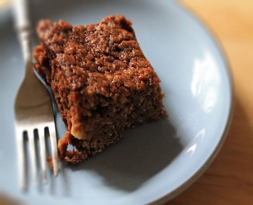 Parkin is a traditional, rustic cake from the north of England made for Guy Fawkes parties.