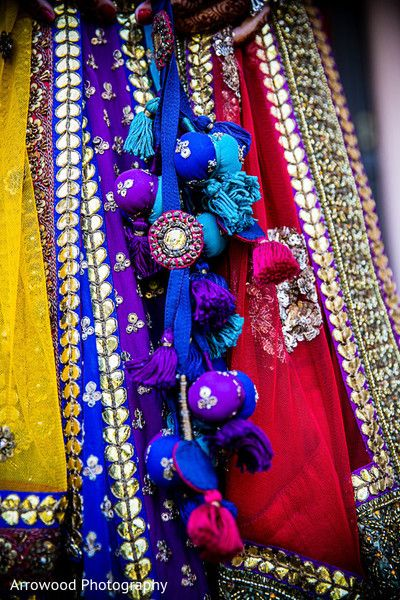 This Maharani opts for beautiful bridal fashions for her wedding.