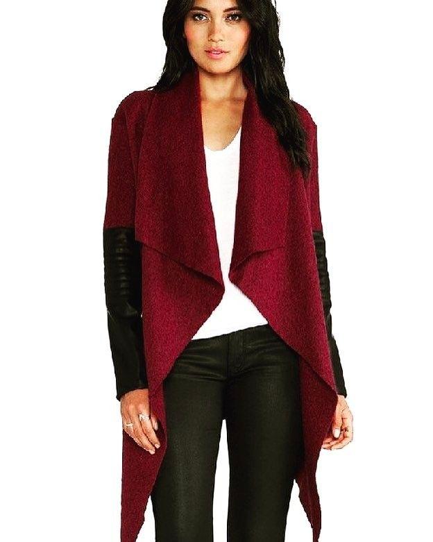Shalena Casual V-Neck Full Long Coat http://shalena.ca #women #fashion #onlineshopping #dresses #shoes #coat #love #life #american #canadian #australia #newzealand #uk #england #france #germany #spain  #latestfashion #beautiful #happy #pretty #colorful #sweet #bestquality #shopping #womenfashion  #followforfollow #follow4follow #f4f #ifollowbackalways
