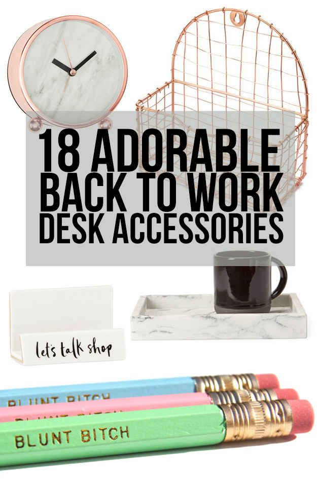 18 Cute Desk Accessories That'll Make Going Back To Work Way Easier