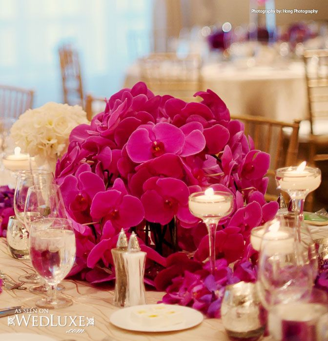 Short pink Wedding reception Centerpiece  would want light 20 best Decoration Ideas images on Pinterest