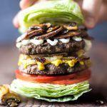 Tribalí Double Stack Burger – Whole30/Paleo