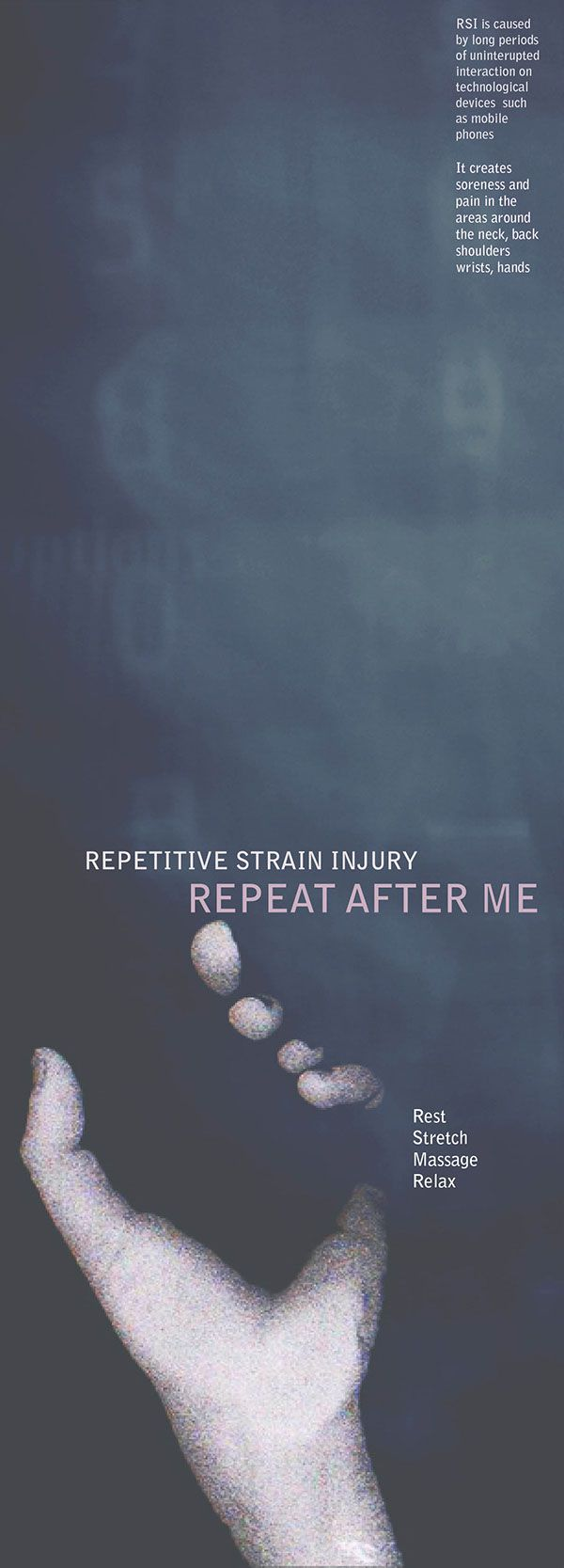 Repetitive Strain Injury on Behance
