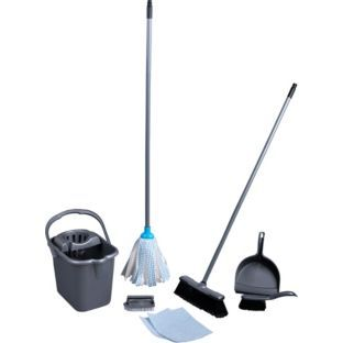 Buy Starter Mop and Bucket Set at Argos.co.uk - Your Online Shop for Mops.