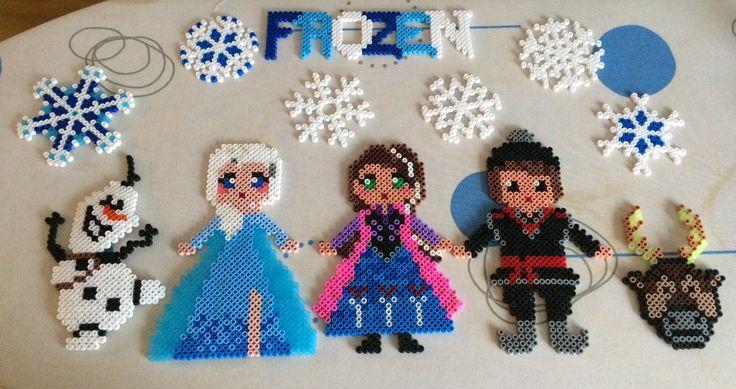 Perler Beads Frozen