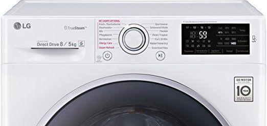 LG Electronics F 14U2 TDH1NH Waschtrockner 1088 kWh / 8 kg Waschen / 5 kg Trocknen / Aqua Lock / Smart Diagnosis / weiß: Amazon.de: Elektro-Großgeräte