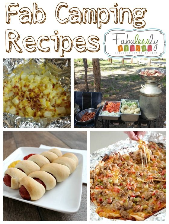 Recipes to use when you are camping.