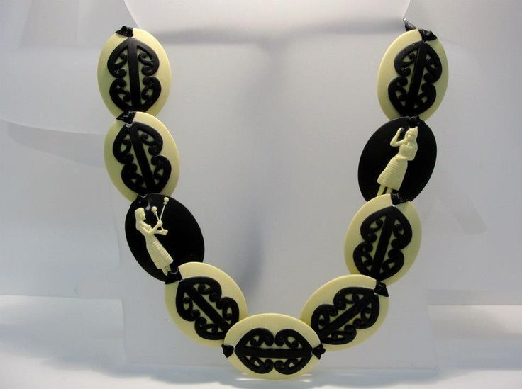 The Paua Room - Kapa Haka Necklace, $139.00 (http://www.thepauaroom.com/kapa-haka-necklace/)