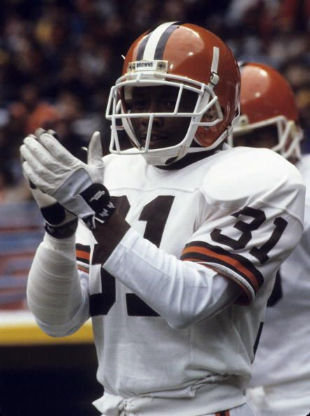 Frank Minnifield, Defensive Back, Cleveland Browns