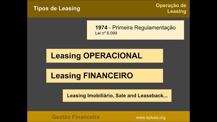 GEST FIN 8 - Contrato de Leasing