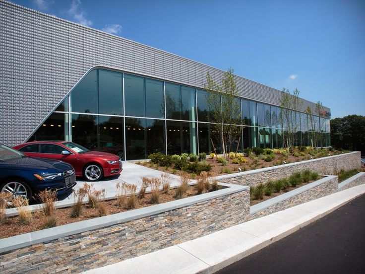 Boston Blend Strips Audi Dealership Natick Ma Retail