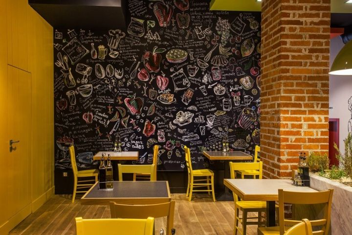 Trops.food fast food restaurant by T Design, Sofia – Bulgaria fast food