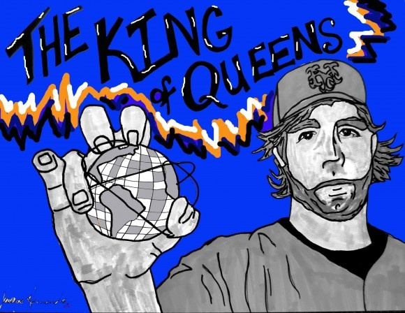 Sketches of All-Star Duo RA Dickey & David Wright