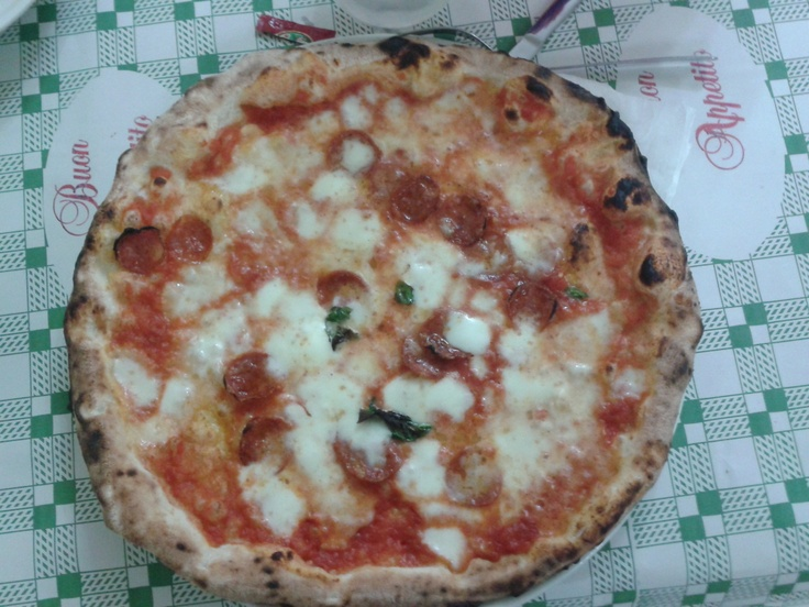 wonderful pizza  (Da Ciro)