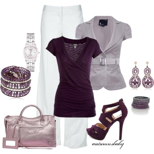 """""""For The Love Of Purple"""" by autumnsbaby on Polyvore"""