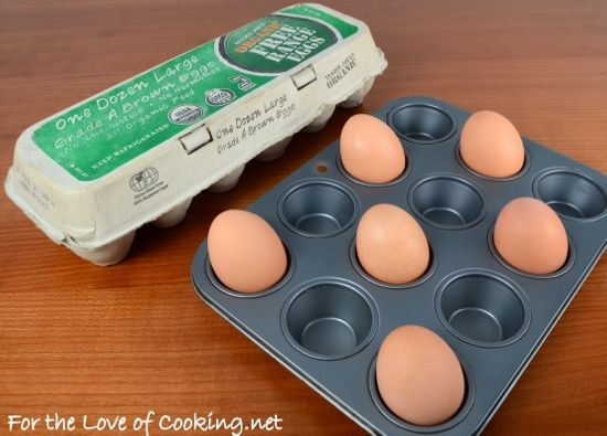 Baked (Hard Boiled) Eggs - seriously going to have to try this eventually!