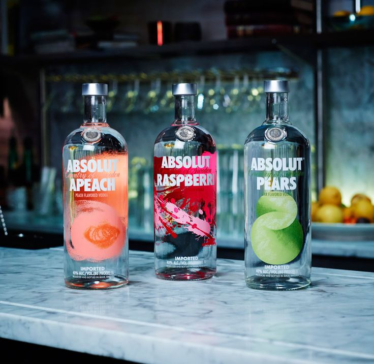 Absolut Vodka Revamps Flavor Range — The Dieline - Package Design Resource