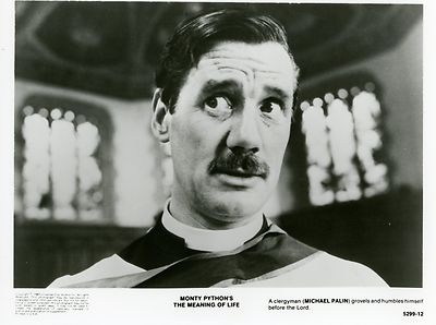 JOHN CLEESE MONTY PYTHON THE MEANING OF LIFE 1983