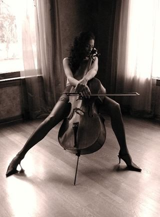 ::cello. . .one of those instruments I can hear and thus really love::