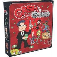 Mindenki ismeri azt a klasszikus felállást a gengszterfilmekből, amikor nem tudni, ki melyik oldalon áll, és a fegyverek egymásra szegeződnek. A Cash ˜n Guns társasjátékban kipróbálhatjuk, mennyire teljesítenénk jól egy ilyen helyzetben.