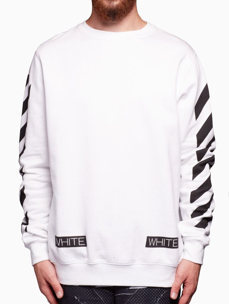 Blue collar sweatshirt from the S/S2016 Off-White c/o Virgil Abloh