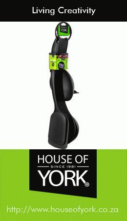 Utensils - 8pc Nylon Utensil Set #HouseofYork