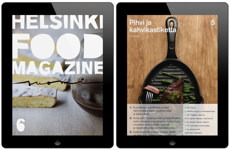 New issue of Helsinki Food Magazine is out now! Download to your iPad from App Store/Newsstand.