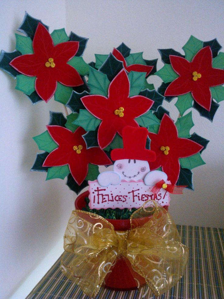 decoracion navidad goma eva. cartel para puerta mueco de nieve en