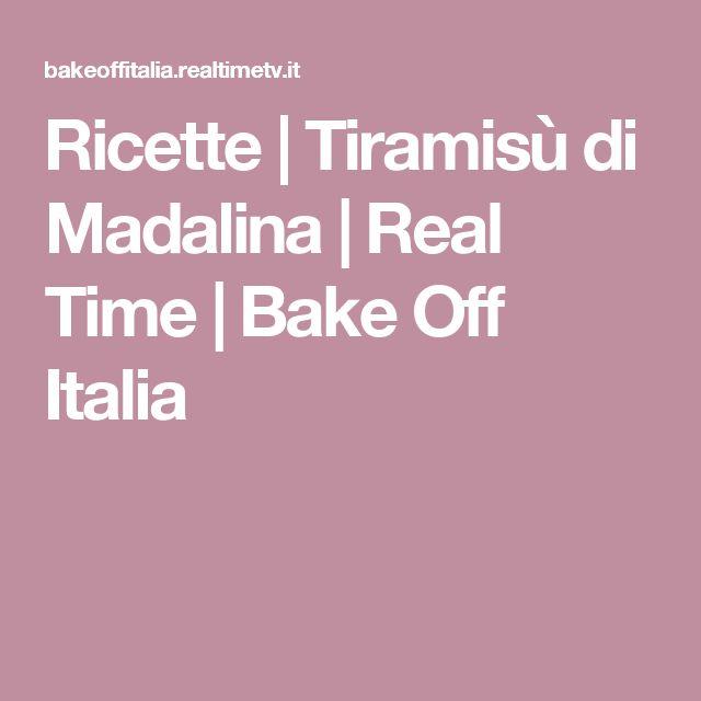 Ricette | Tiramisù di Madalina | Real Time | Bake Off Italia