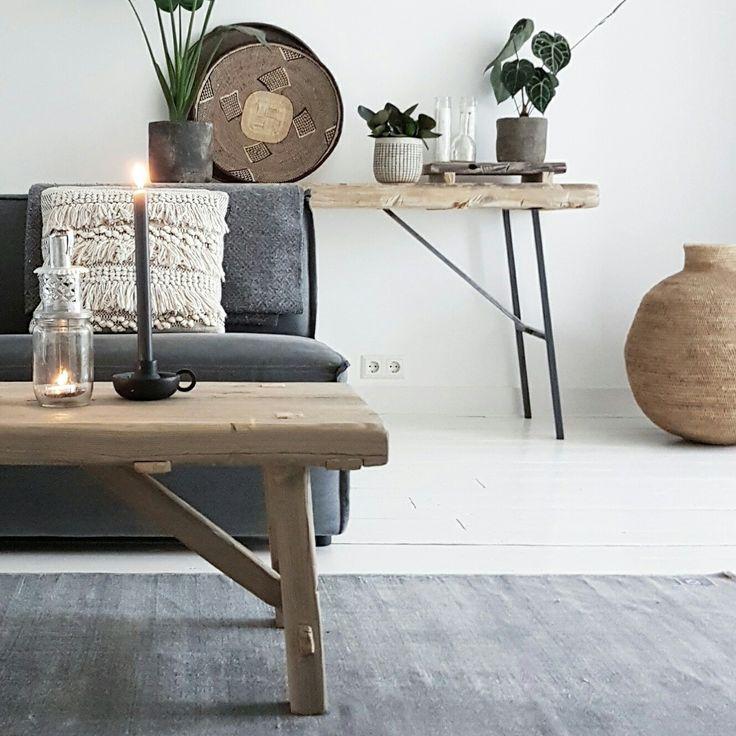 Mooi interieur met hout