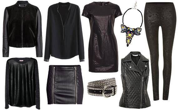 Lovely in leather ♥ 9 affordable items  http://www.missbudget.nl/look-for-less/item/269-look-for-less-leer-leren-jurk-broek-rok-legging-sale-uitverkoop-korting