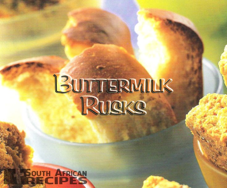 South African Recipes | BUTTERMILK RUSKS