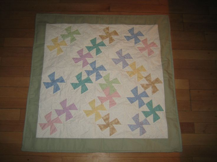 Baby quilt for my nephew, 2007.