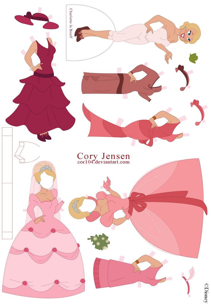 12 best PAPER DOLL SLEEPING BEAUTY images on Pinterest | Sleeping ...