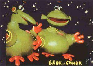 """Brok et Chnok """"Les visiteurs du Mercredi"""""""