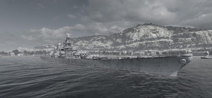 Iowa battleship: guide and tutorial WOWS