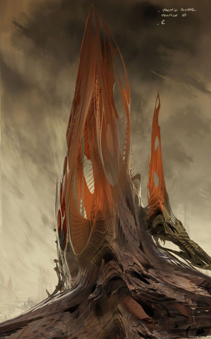 David Levy - Enders Game Concept Art