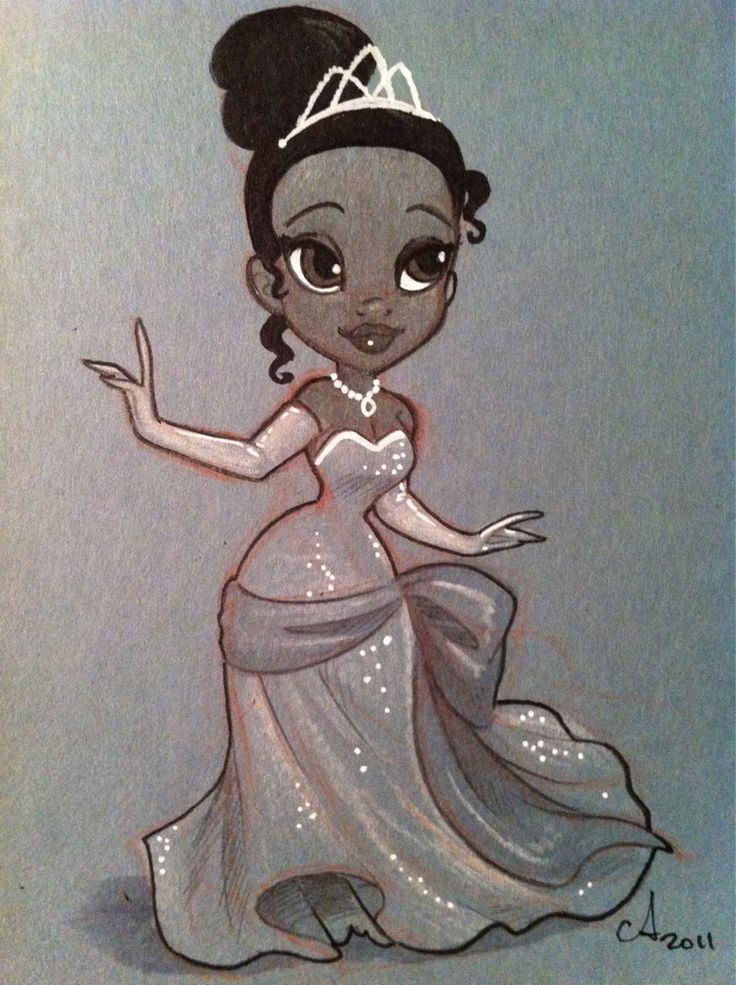 Tiana by Amy Mebberson