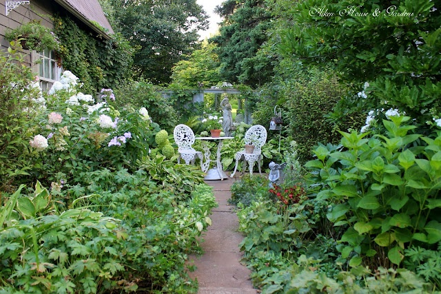 Aiken House & Gardens: Touring the Late August Garden,  I want to just sit in this garden a sip a glass of wine: Auguste Gardens, Gardens Style, Auguste 2012, Late Auguste, Protective 2008, Aiken House, 2008 2014, House Gardens, Copyright Protective