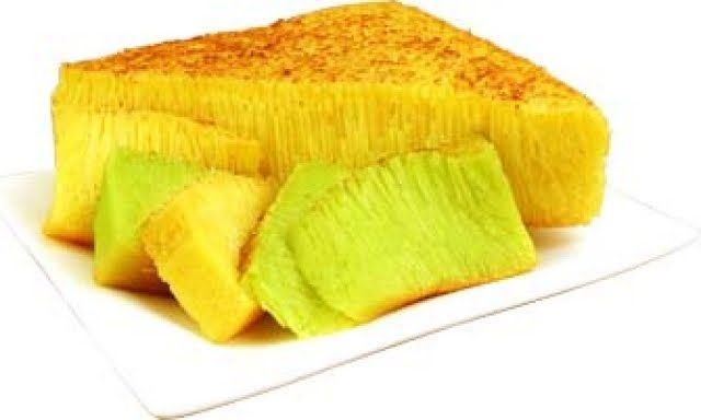 bika ambon | Resep Bika Ambon Medan Pandan Bika looks similar to Bahn Bo Nuong, but they taste different.