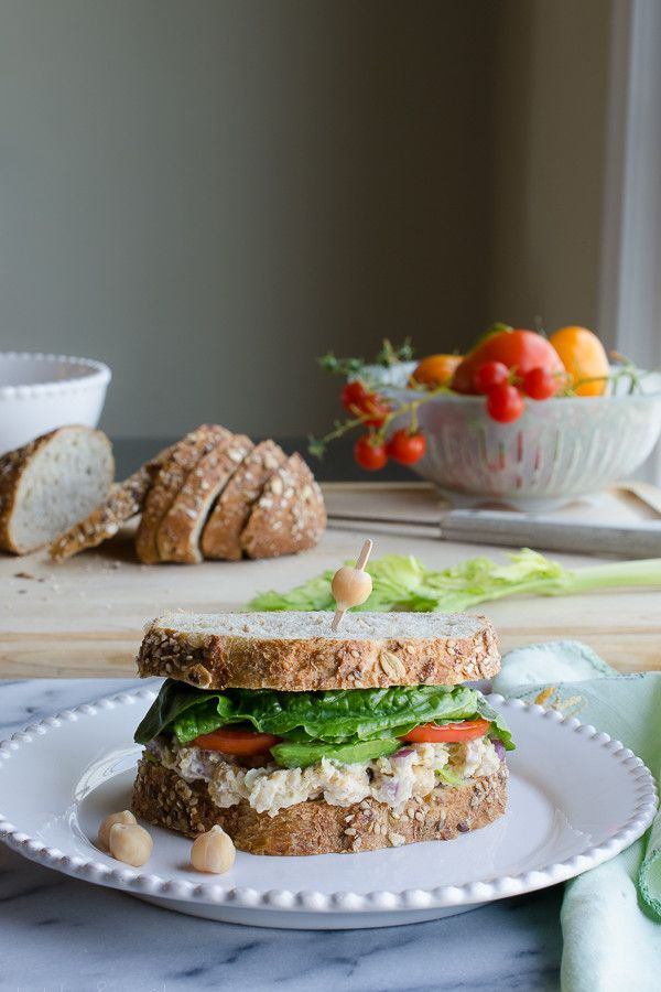 Chickpea Smash Sandwich: my most favorite sandwich |  tasteLUVnourish