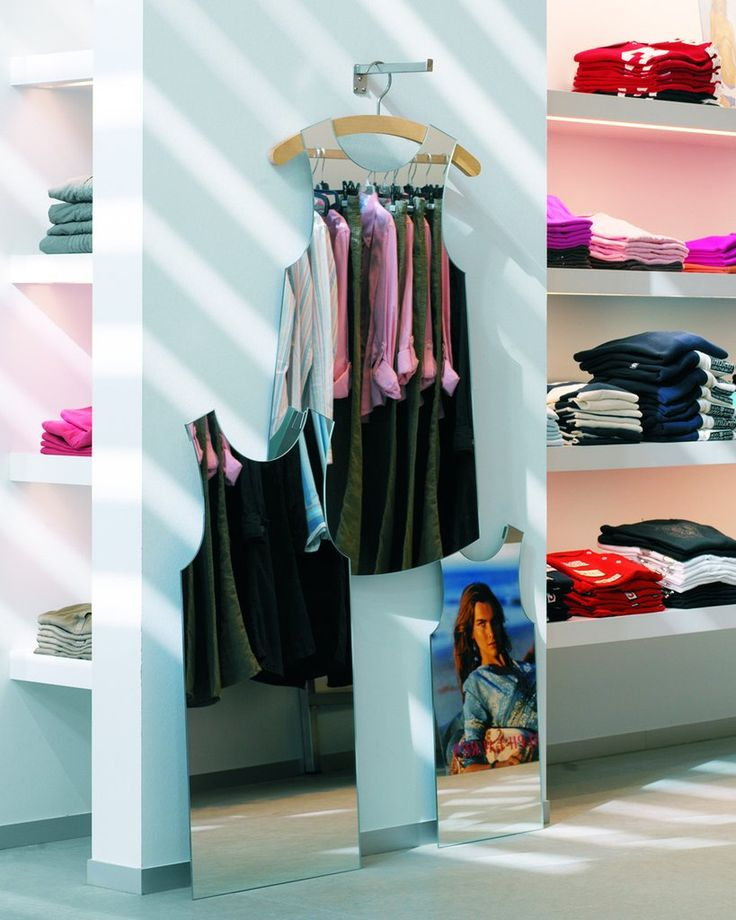 mirrordeco.com — Marcella Mirror - Dress Shaped, Frameless H:95cm
