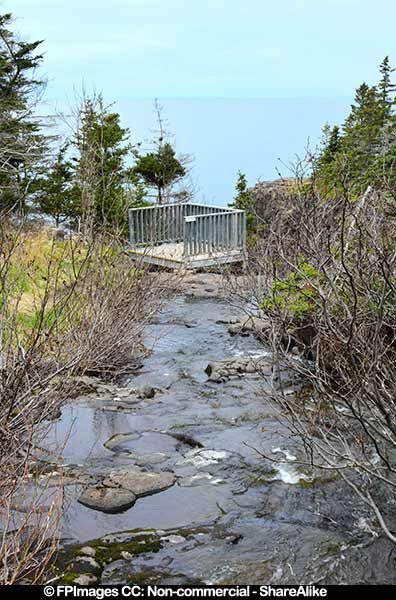 Nova Scotia Hiking Trails with Waterfall – Delaps Cove, 10 waterfall pictures
