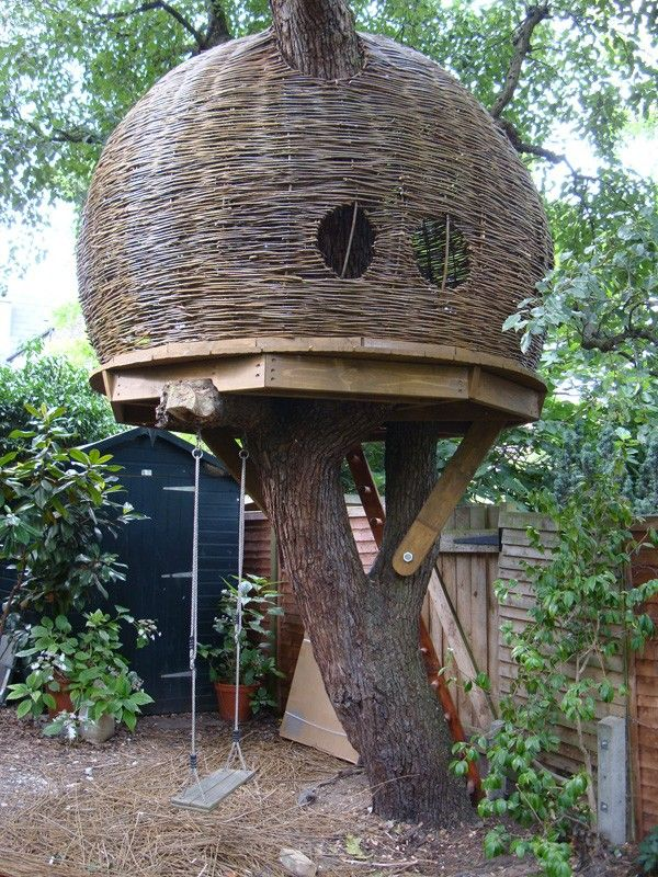 Willow Tree House. Too perfectly round for my liking, would prefer a more rustic finish.