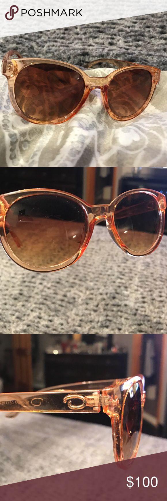 Oscar De LaRenta These glasses are pure class, smoky bronze lens lets you see the eyes slightly Oscar de la Renta Accessories Sunglasses